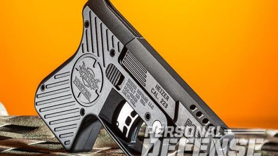 Heizer Defense Pocket Pistol right angle