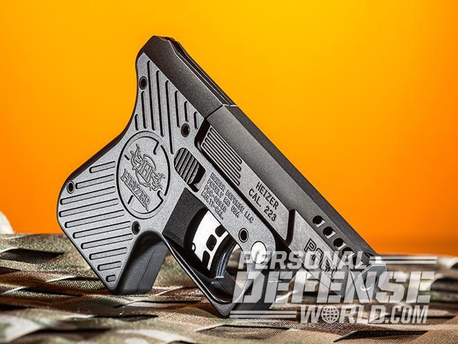 Heizer Defense Pocket Pistol right angle