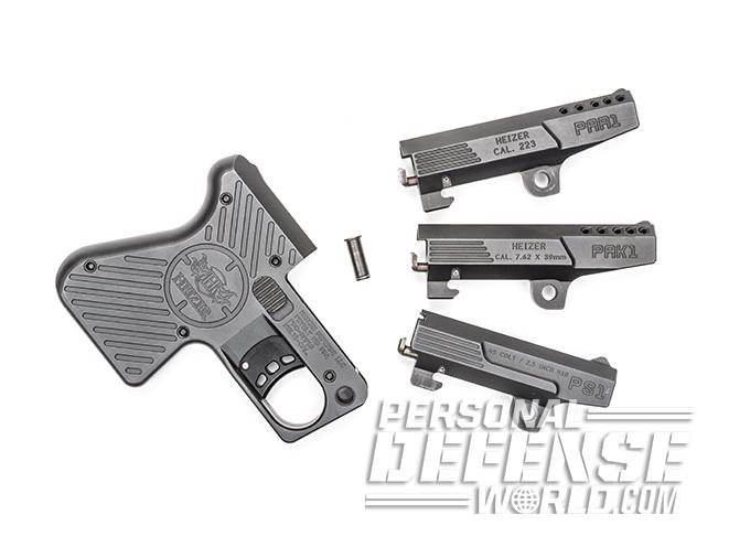 Heizer Defense Pocket Pistol barrel assemblies