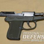 ortgies vest pocket and kel-tec p-32 pistol slide open