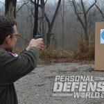 ortgies vest pocket and kel-tec p-32 pistol target