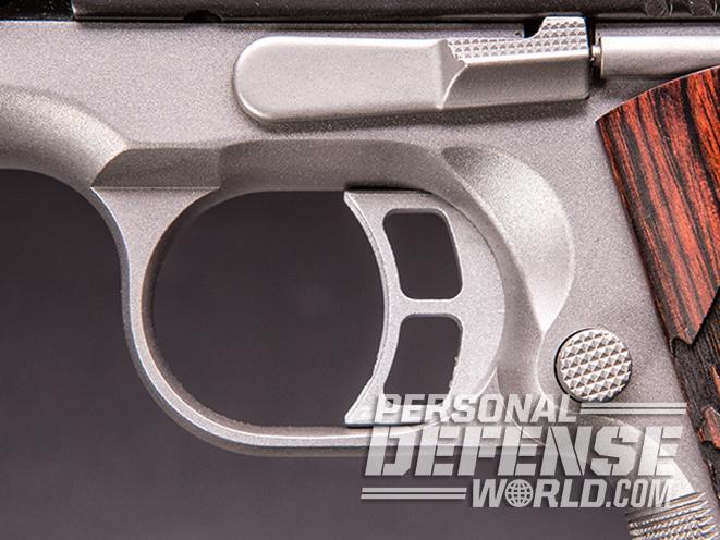 Kimber Camp Guard 10 pistol trigger