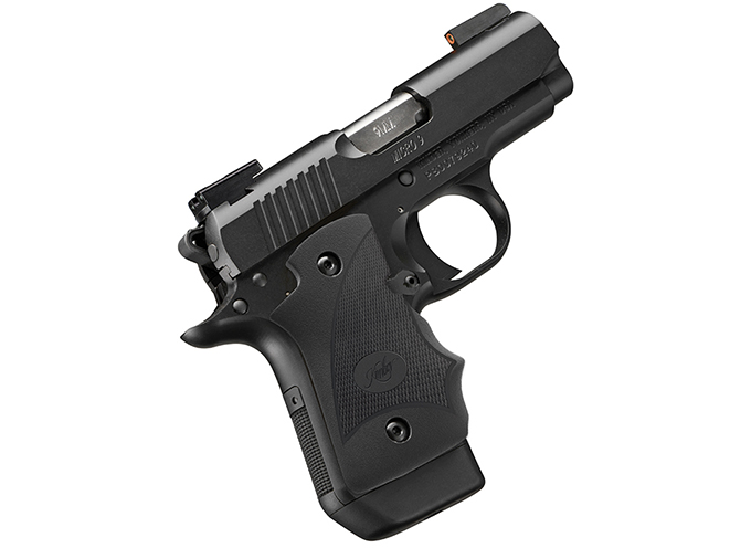Kimber Micro 9 Nightfall (DN) pistol profile
