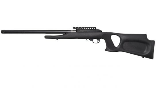 Magnum Research TTS-22 Suppressed .22 LR Barrel rifle left profile