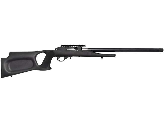 Magnum Research TTS-22 Suppressed .22 LR Barrel rifle right profile