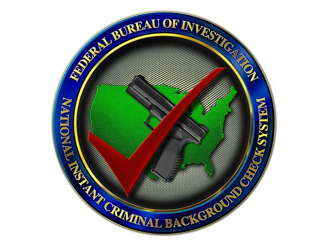 national instant criminal gun background check system logo