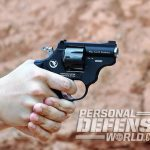 nighthawk korth sky hawk revolver aiming closeup