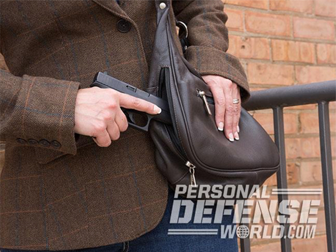 off-body carry purse draw