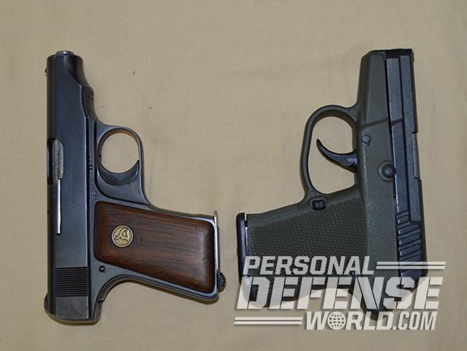 Old vs  New Shootout: 1923 Ortgies Vest Pocket vs  Kel-Tec P-32