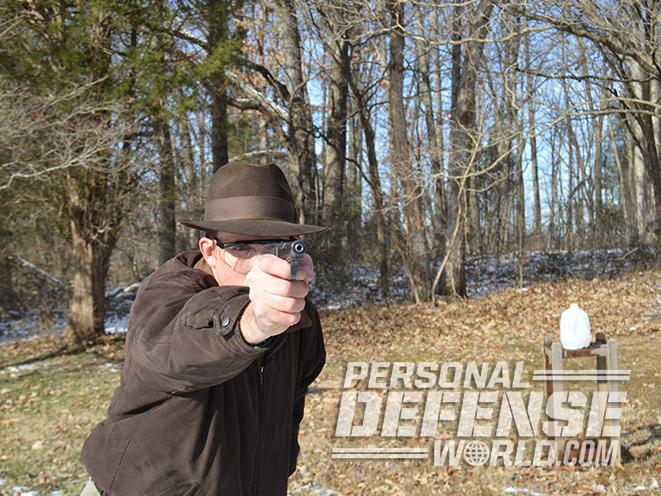Ortgies Vest Pocket pistol shooting