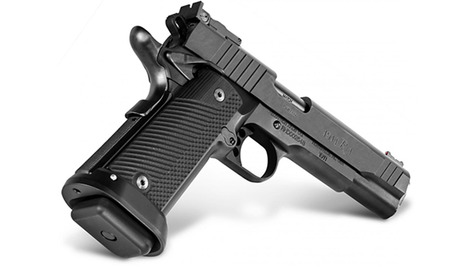Remington R1 Limited Double Stack pistol rear angle