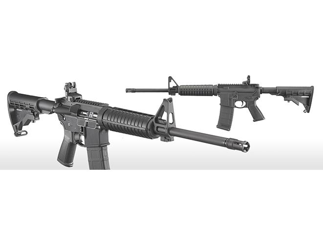 dianne feinstein Ruger AR-556 rifles