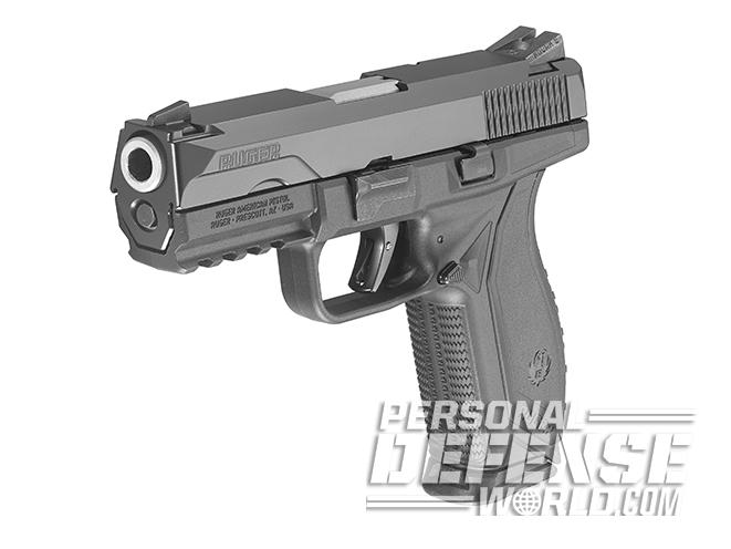 Ruger American Pistol polymer 45 angle