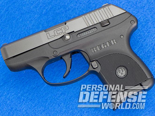 kel-tec p-3at Ruger LCP profile