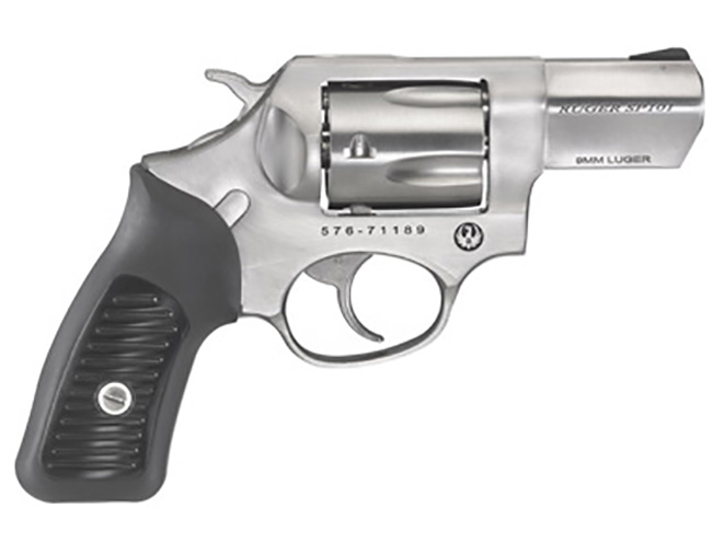 Ruger SP101 9mm revolver