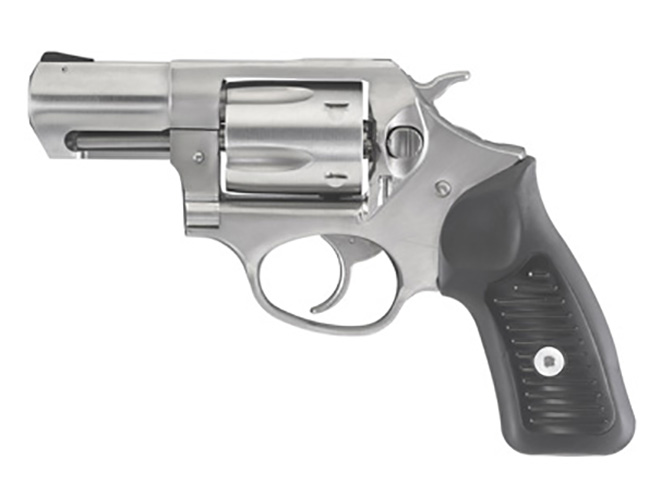 Ruger SP101 9mm revolver left profile