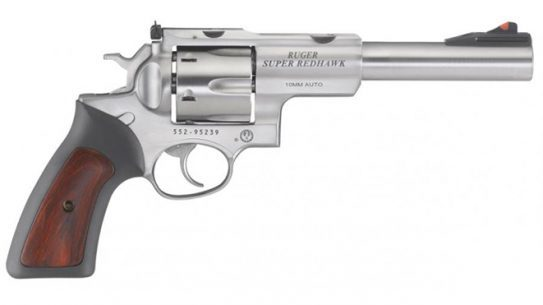 Ruger Super Redhawk 10mm revolver right profile