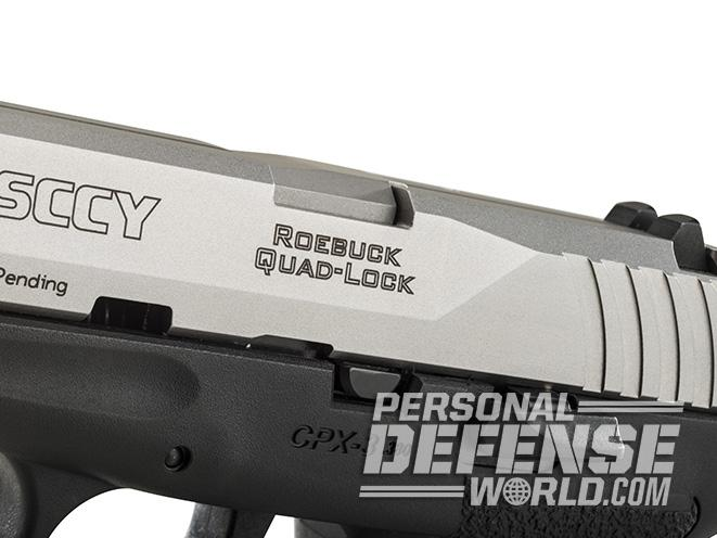 SCCY CPX-3 PISTOL slide
