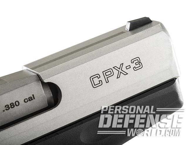 SCCY CPX-3 PISTOL engraving