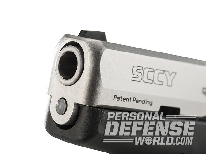SCCY CPX-3 PISTOL muzzle
