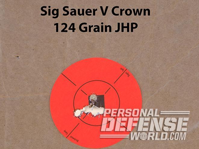 Sig Sauer P229 ASE pistol target
