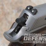 Sig Sauer P229 ASE pistol rear sight