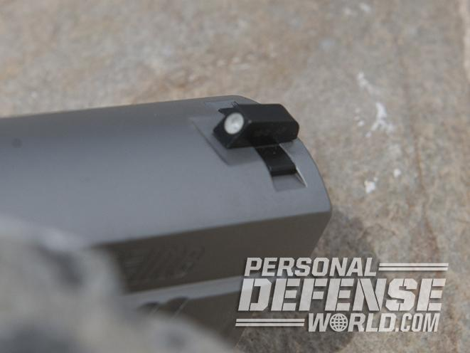 Sig Sauer P229 ASE pistol front sight