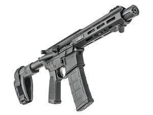 Springfield Saint AR-15 Pistol right angle