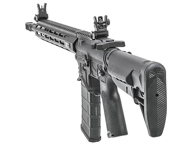 Springfield Saint Edge rifle rear left angle