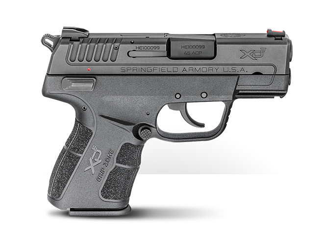 springfield xde 45 ACP right profile