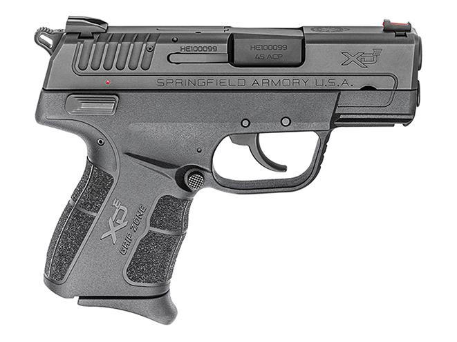 springfield xde 45 ACP pinky extension right profile