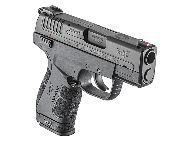 springfield xde 45 ACP grip extension right angle