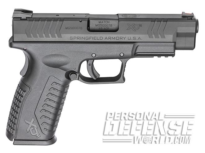 "Springfield XDM 4.5"" polymer 45 right profile"