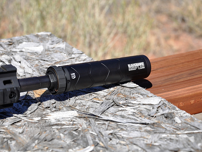 Blackhawk Barrage suppressor 5.56mm Athlon Outdoors Rendezvous close