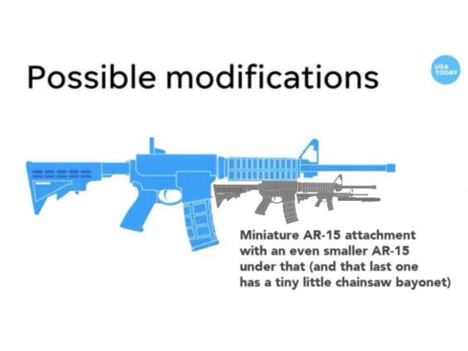 USA Today AR Bayonet mini