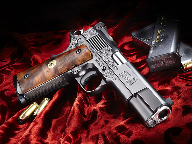 Wilson Combat Pinnacle Pistol Athlon Outdoors Rendezvous engraving