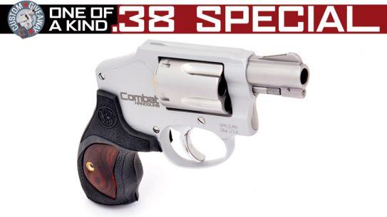 Win this Commemorative Combat Handguns S&W Model 642 Snubbie