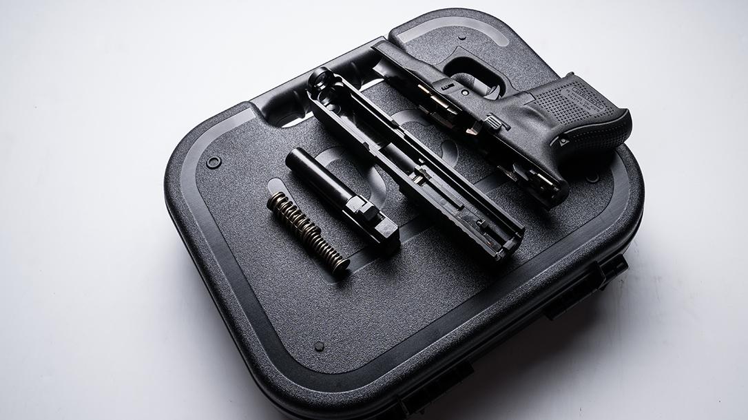 Glock 26 Gen5 pistol launch apart