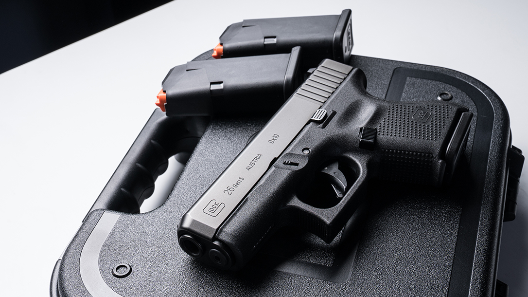 Glock 26 Gen5 pistol launch lead