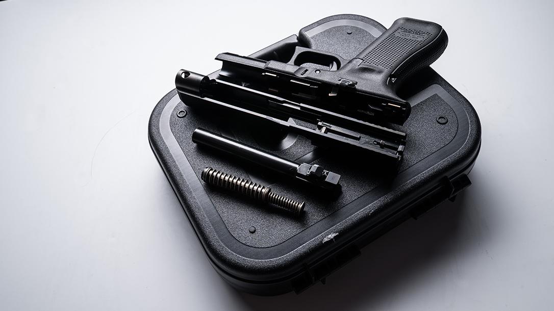 Glock 34 Gen5 MOS pistol release apart