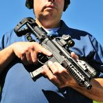 Angstadt Arms UDP-9 Pistol holding