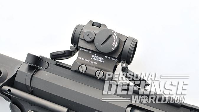 Angstadt Arms UDP-9 Pistol scope