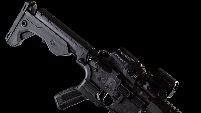 ar bump stock slide fire