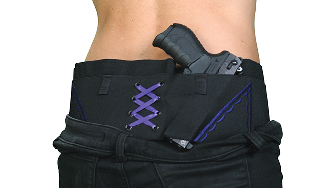 Can Can Concealment Hip Hugger discreet concealed carry holsters