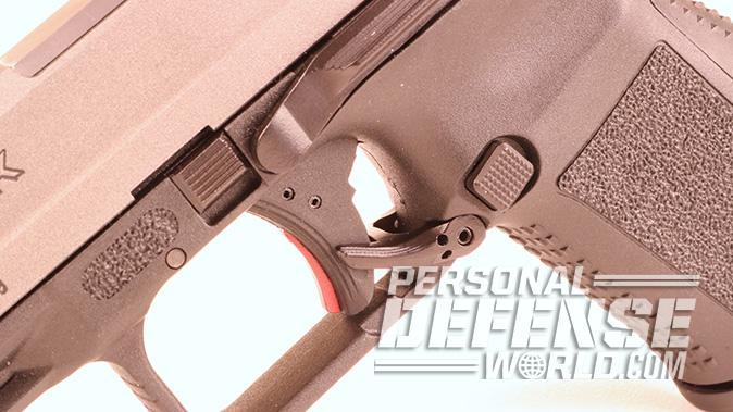 Canik TP9SF Elite-S pistol ambidextrous lever