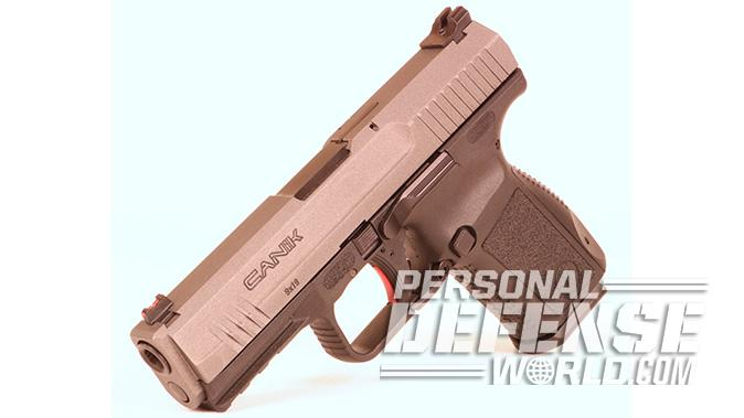 Canik TP9SF Elite-S pistol left angle