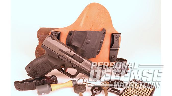 Canik TP9SF Elite-S pistol holster