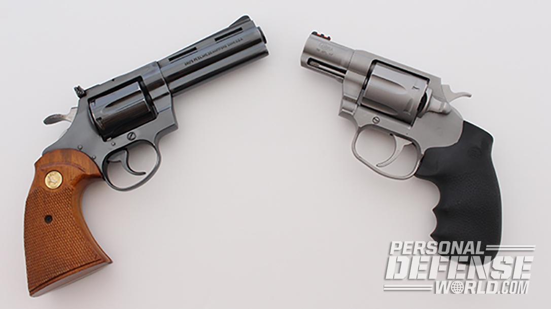 38 Special Showdown: New Colt Cobra vs  Vintage Colt Diamondback