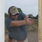 Colt Gunsite 1911 pistol action shooting