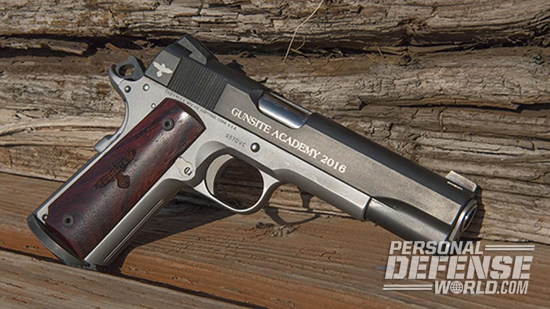 Colt Gunsite 1911 pistol